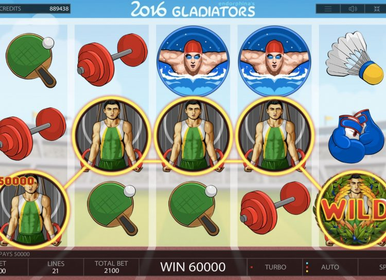 2016 Gladiators Slot