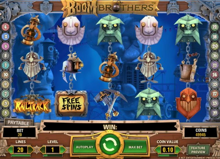 Boom Brothers Slot