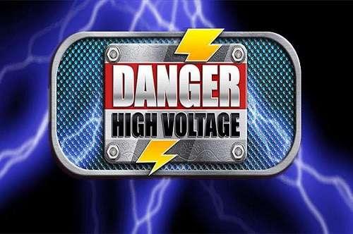 Danger High Voltage Slot