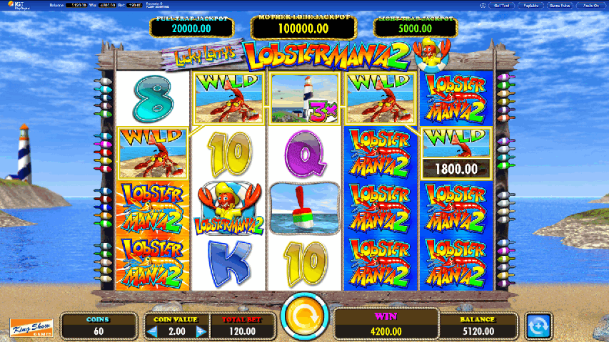 Lucky-Larrys-Lobstermania-2-Slot-Game