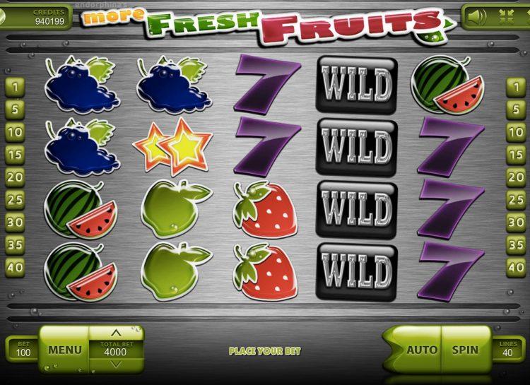 More Fresh Fruits Slot