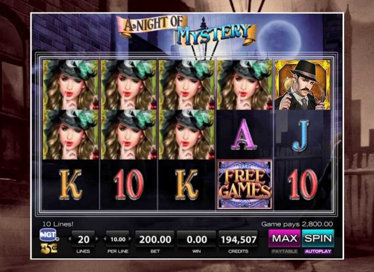 Night Of Mystery Slot