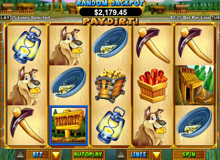 Pay Dirt Slot