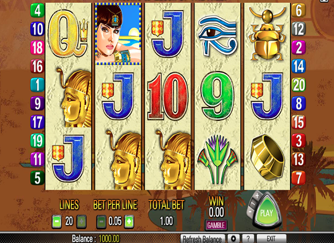 Queen-of-the-Nile-Slot-Machine