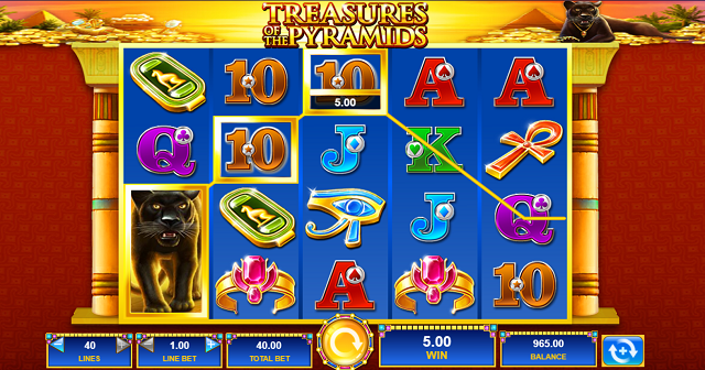 Treasures-Of-The-Pyramids-Slot-Win