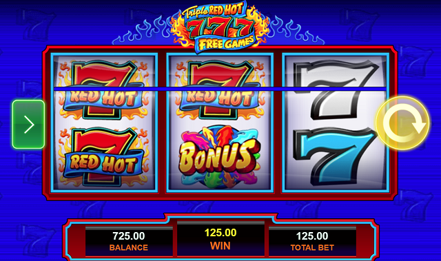 Triple-Red-Hot-777-Pokie-Win