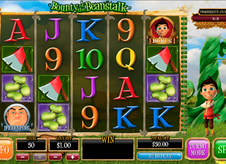 Bounty Of The Beanstalk Slot