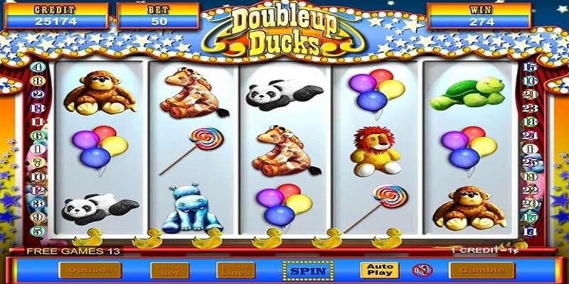 DoubleUp Ducks Slot Machine