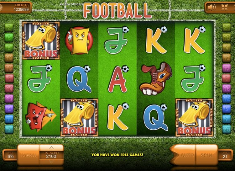 Football Online Pokie