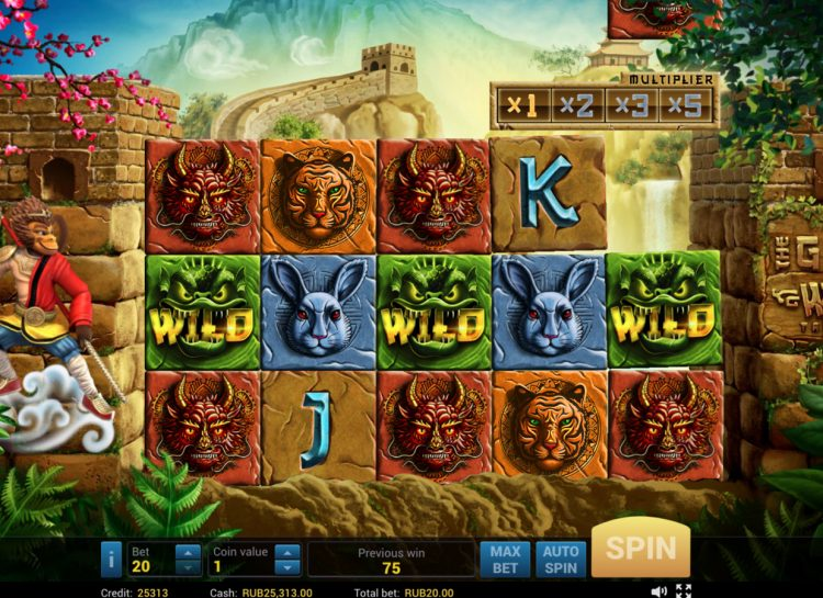 The Great Wall Treasures Slot