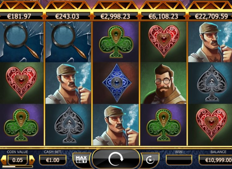 Holmes & the Stolen Stones Slot