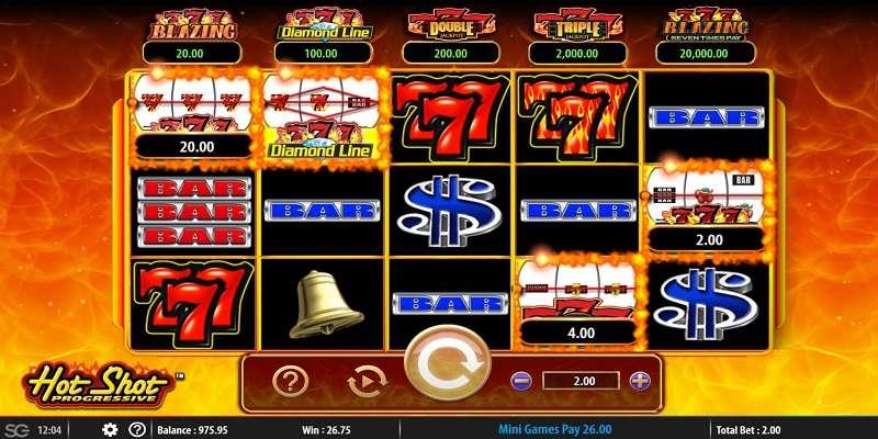 Hot Shot Progressive Slot Machine Download