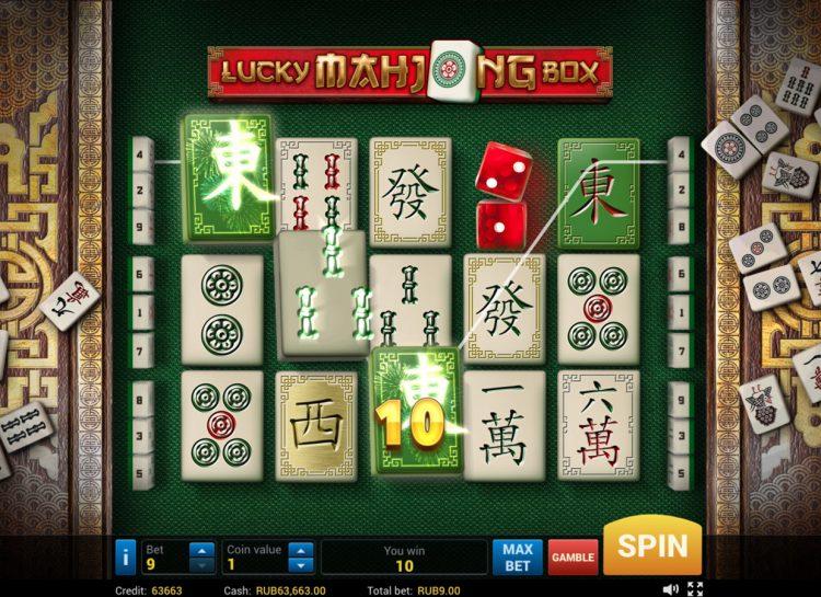 Lucky Mahjong Box Slot