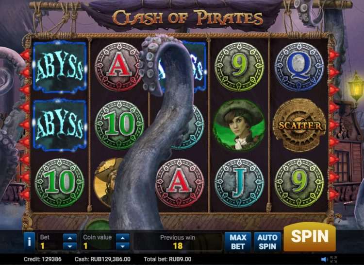 Clash of Pirates Slot