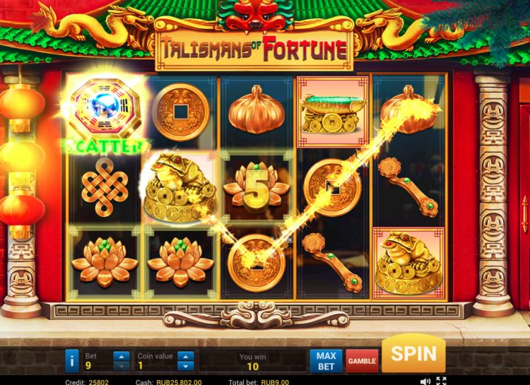 Talisman of Fortune Slot
